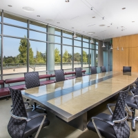 The Copia Boadroom, a corporate meeting space for rent at the CIA at Copia in Napa, CA.