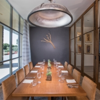 A private dining room for rent at the CIA at Copia in Napa, CA.