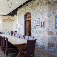 The Boardroom of The Culinary Institute of America at Greystone in St. Helena, CA.