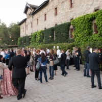 Event on the Herb Terrace of The Culinary Institute of America at Greystone in St. Helena, CA.
