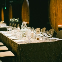 The Barrel Room wedding venue at The Culinary Institute of America at Greystone in St. Helena, CA.
