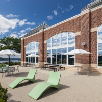 The Egg at The Student Commons at The Culinary Institute of America's Hyde Park campus.