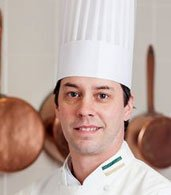Jason Potanovich '96, CIA Chef-Instructor at The Bocuse Restaurant in Hyde Park, NY.