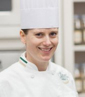 Sarah Linkenheil, CIA Chef-Instructor at Gatehouse Restaurant in St. Helena, CA