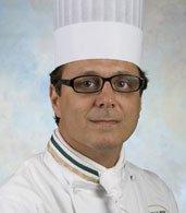 Dwayne LiPuma '86, CIA Chef-Instructor at American Bounty Restaurant in Hyde Park, NY.