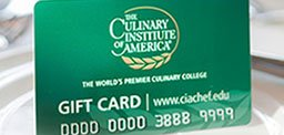 The CIA Universal Gift Card for Foodies—CIA Gift Card