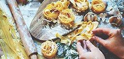 Festive Pasta Dinner