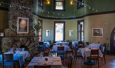 Interior View Culinary Insute Of America At Greystone S Gatehouse Restaurant In St Helena
