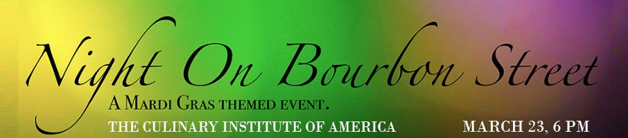 A night on Bourbon Street, CIA Student Charity Event, March 23, 2019 at 6 p.m.