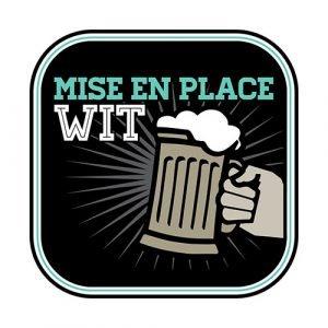 logo of the mise en place wit beer
